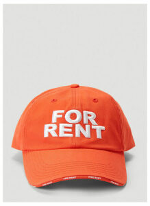 Vetements For Rent Cap in Red size One Size