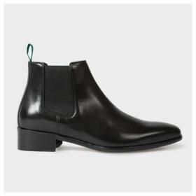 Women's Black Leather 'Jackson' Boots