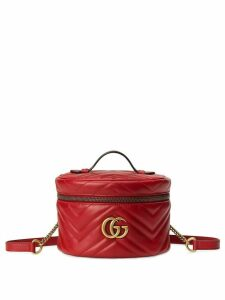 Gucci GG Marmont mini backpack - Red