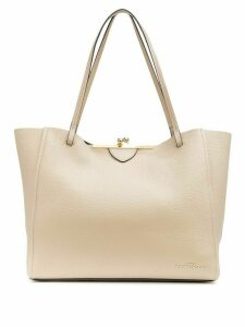 Marc Jacobs The Kiss Lock tote bag - Brown