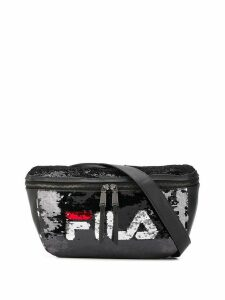 Fila sequin-embellished belt bag - Black