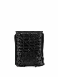 Hereu Trena woven style crossbody bag - Black
