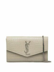 Saint Laurent envelope crossbody bag - White