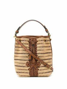 Anya Hindmarch The Neeson rope bucket bag - NEUTRALS