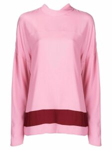Marni tie collar blouse - PINK