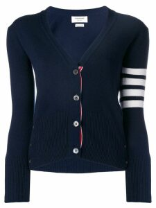 Thom Browne 4-bar stripe cardigan - Blue