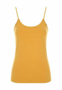 Womens Mustard Cami Top