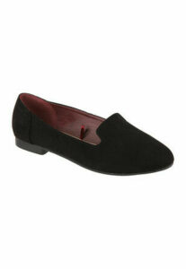 Womens Black Slipper Style Shoes