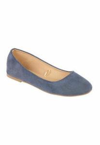 Womens Blue Ballet Shoes
