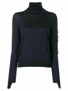 Barrie roll neck jumper - Blue