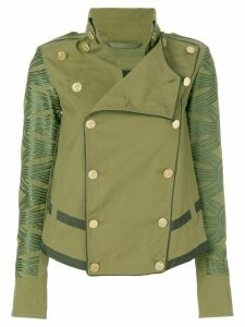 Mr & Mrs Italy military jacket - Green