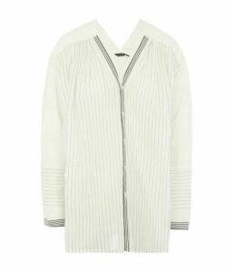 Stripe Cotton Blouse