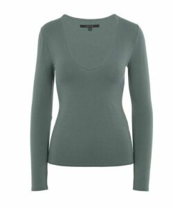 Runway Long Sleeve V-Neck T-Shirt