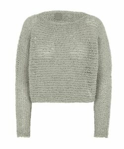 Bell Open Weave Knitted Jumper