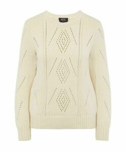 Lucrecia Open Knit Jumper