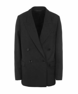 Janny Double-Breasted Suit Jacket