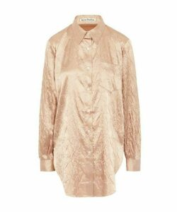 Sophi Shiny Floral Embossed Shirt