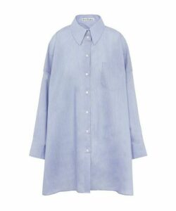 Suky Extra Oversized Cotton Poplin Shirt