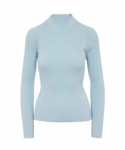 Katina Irregular Rib Knit Jumper