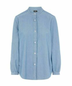 Antoinette Cotton-Chambray Shirt