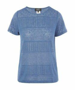 Simone Pointelle Jersey T-Shirt