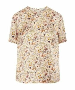 Liddell Silk Satin T-Shirt