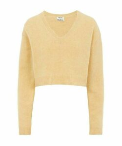 Kadienne Shetland Wool Crop Jumper