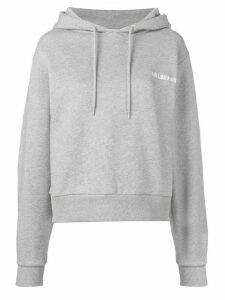 Han Kjøbenhavn Bulky logo hoodie - Grey
