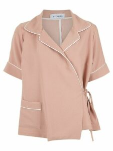 Olympiah wrap style shirt - PINK