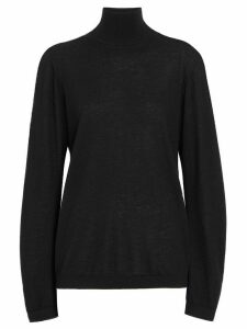 Burberry Cashmere Turtleneck Sweater - Black