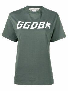 Golden Goose logo printed T-shirt - Green