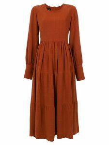 Olympiah Inca dress - Brown