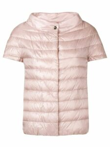 Herno shortsleeved puffer jacket - PINK