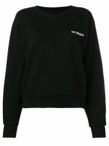 Han Kjøbenhavn Bulky logo sweater - Black