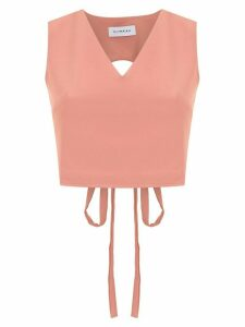 Olympiah Papa cropped top - PINK