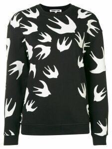 McQ Alexander McQueen sparrow intarsia jumper - Black