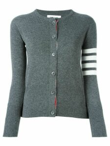 Thom Browne 4-bar stripe cardigan - Grey
