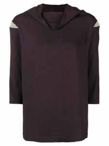 Fabiana Filippi foldover neck blouse - PINK