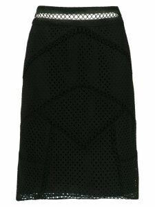 Olympiah Fellari panelled skirt - Black