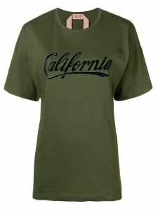 Nº21 California short-sleeve T-shirt - Green