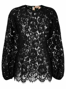 Nº21 lace blouse - Black