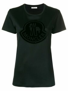 Moncler embroidered logo T-shirt - Black