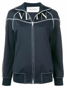 Valentino VLTN printed track jacket - Blue