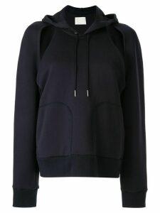Dion Lee Contour hoodie - Blue