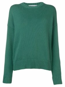 Cristaseya knitted jumper - Green