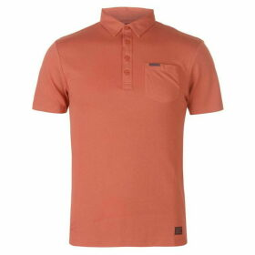 Firetrap Blackseal Herringbone Polo