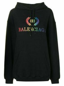 Balenciaga Laurier Hoodie - Black