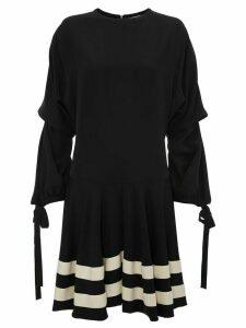 JW Anderson CIRCLE HEM MINI DRESS - Black