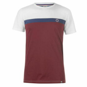 Pretty Green Colour Block T Shirt