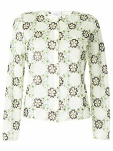 Giambattista Valli floral embroidered cardigan - Multicolour